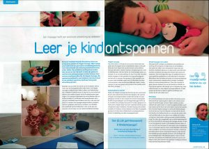 Publicatie For You - Kindermassage