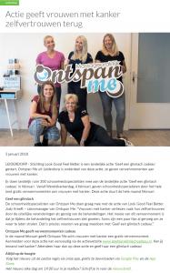 Publicatie Unity - Actie Geeft Vrouwen met Kanker Zelfvertrouwen