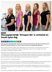 Publicatie Leiderdorps Dagblad - Verhuizing